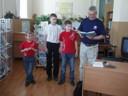 Ю.А.Ермилов с внуками