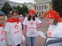 Молодые участники ярмарки тоже отвечают на вопросы литературной викторины